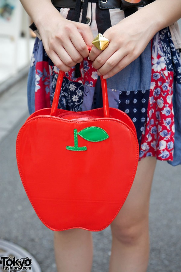 BodyLine Apple Handbag