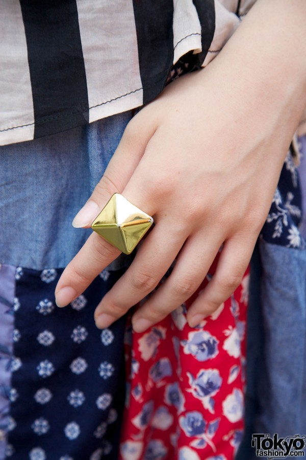 Monomania Pyramid Ring