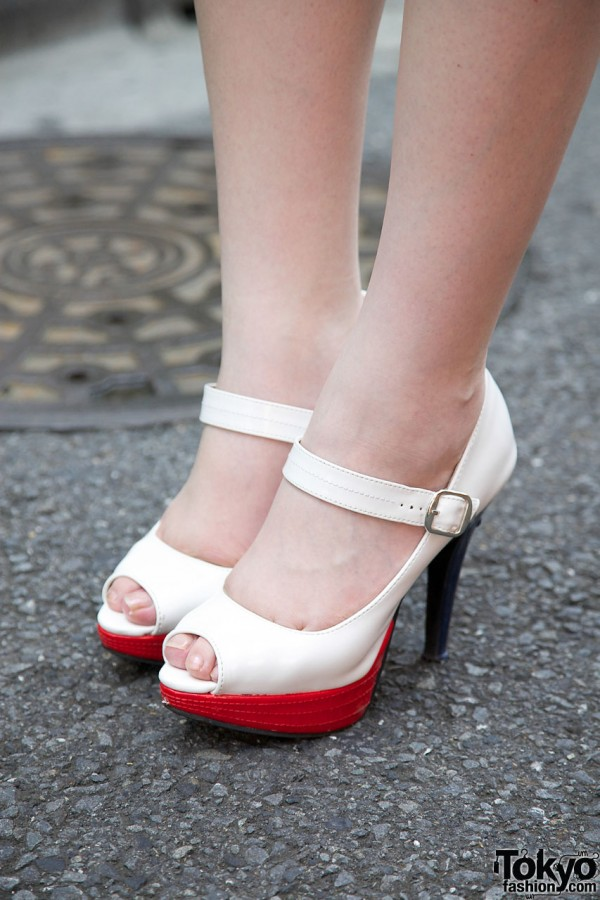 Heels With Red Platforms