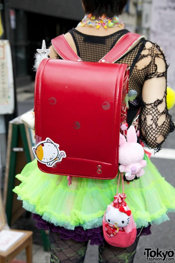 Randoseru Backpack & Hello Kitty
