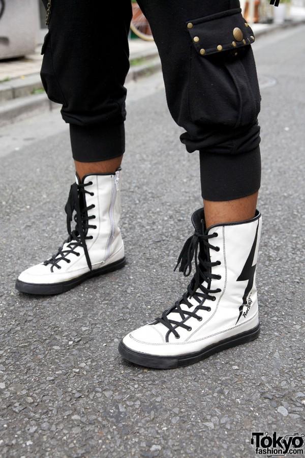 Skinny Lip Pants & CoCoLuLu Sneakers