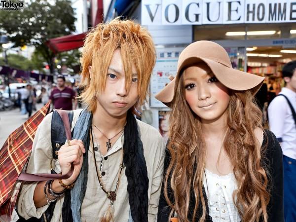 Shibuya Guy & Girl Street Style
