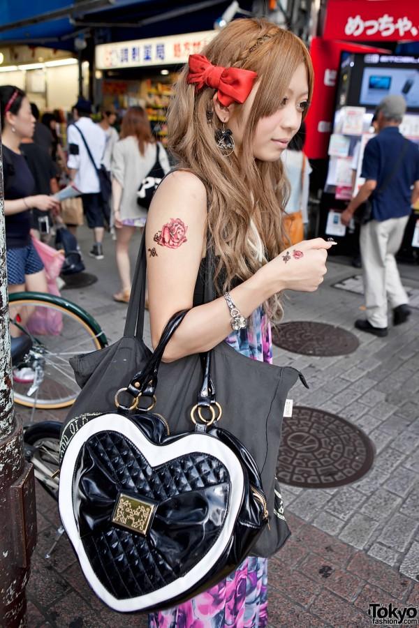Golds Infinity Heart Handbag
