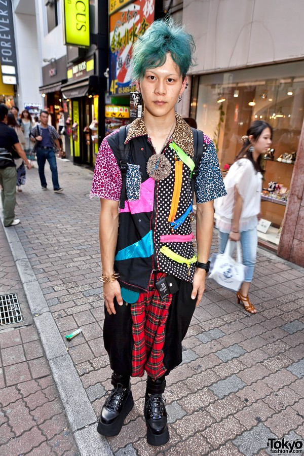 Colorful Shibuya Street Fashion