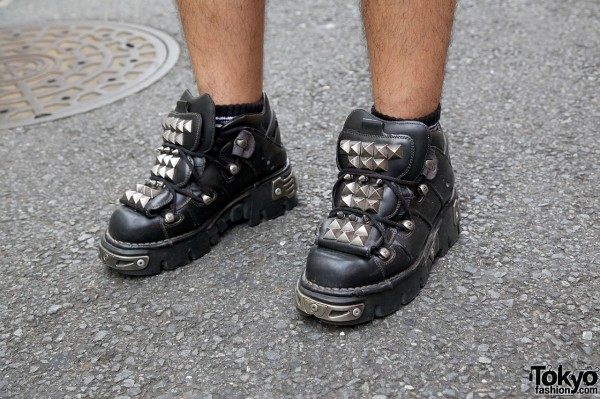 New Rock studded shoes
