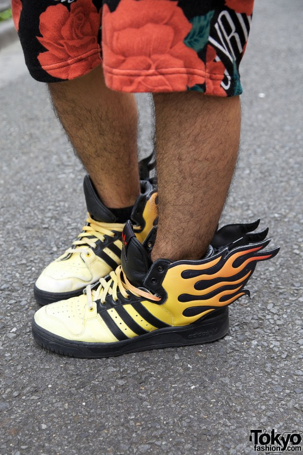 Jeremy Scott x Adidas Flame Wings Sneakers