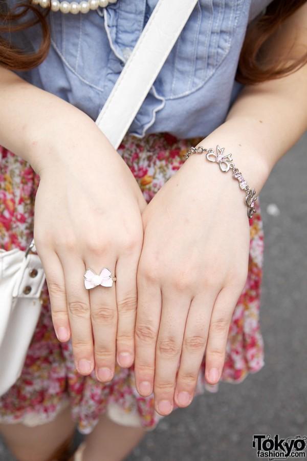 Bow ring & bracelet