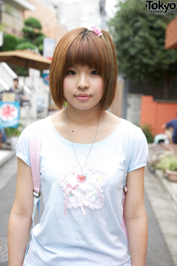 Nice Perch T-shirt in Harajuku