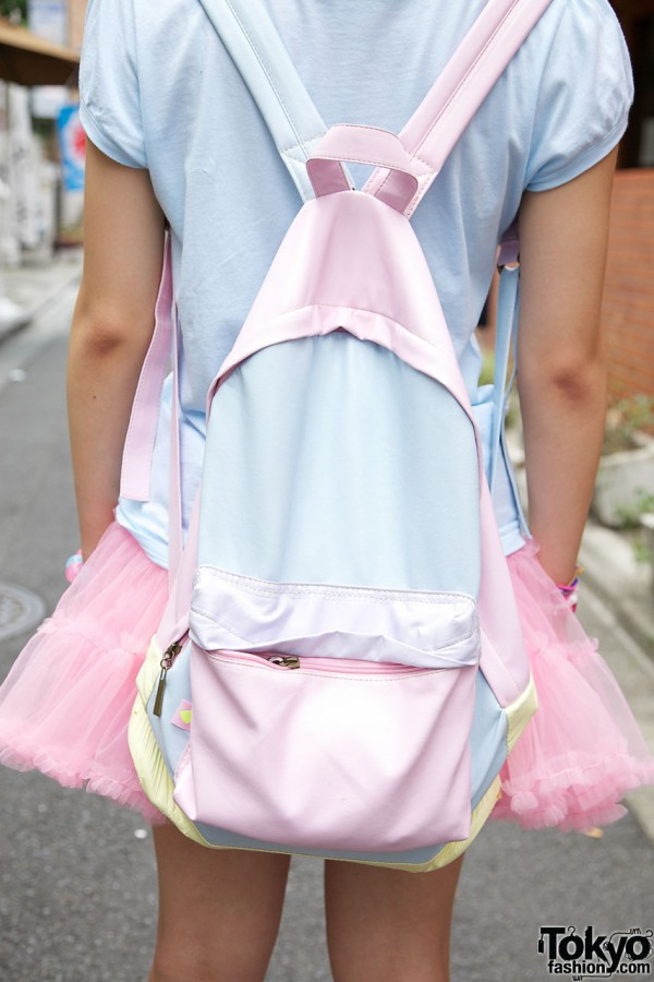 ManiaQ Pastel Backpack in Harajuku