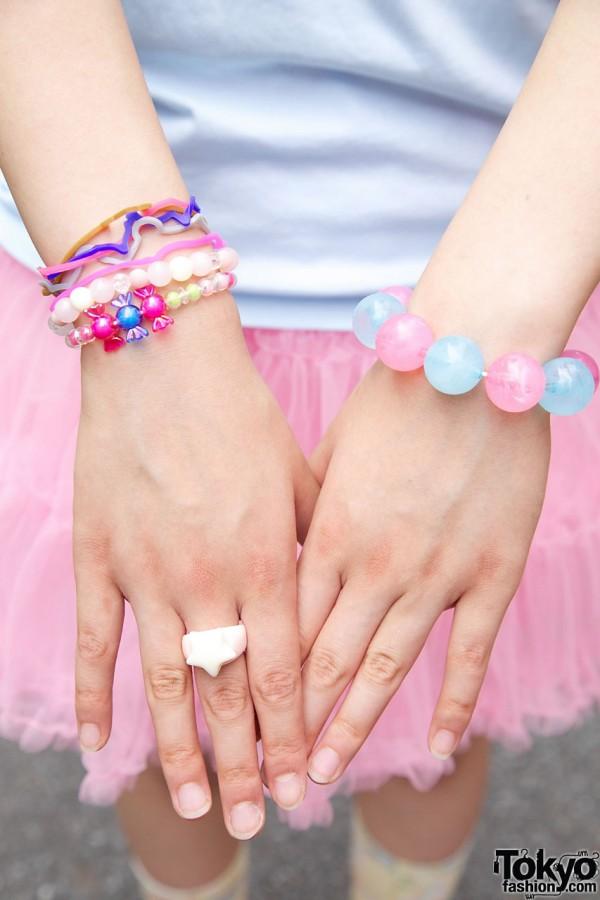 6%DokiDoki, Swimmer, Stone World Bracelets
