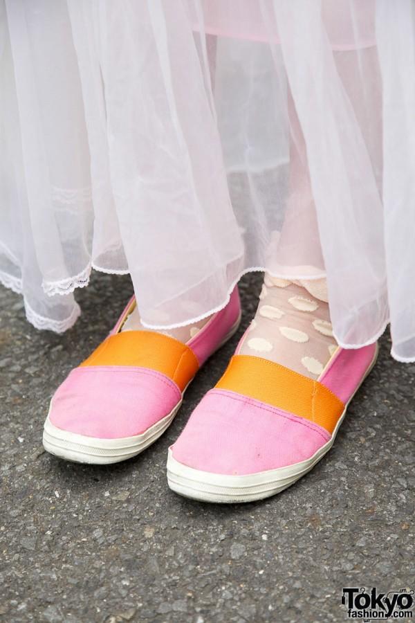 Panama Boy Shoes in Harajuku