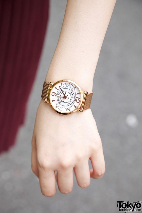 Vivienne Westwood gold watch