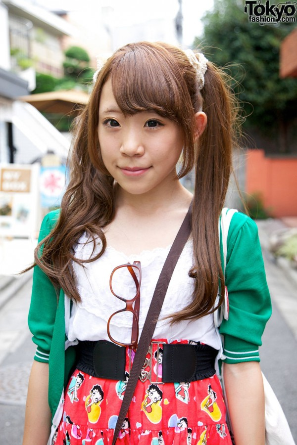 Japanese Twin Tails Hairstyle