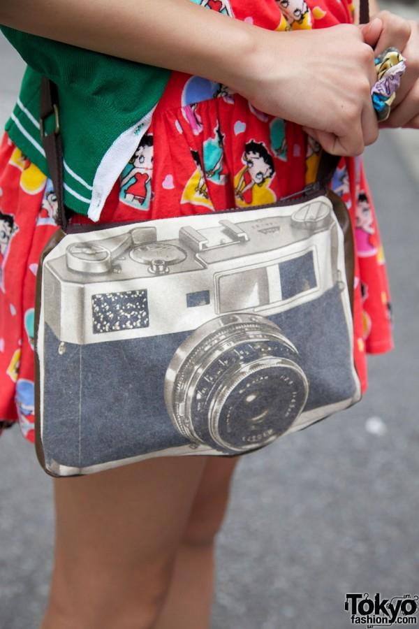 Camera Purse from Bunkaya Zakkaten