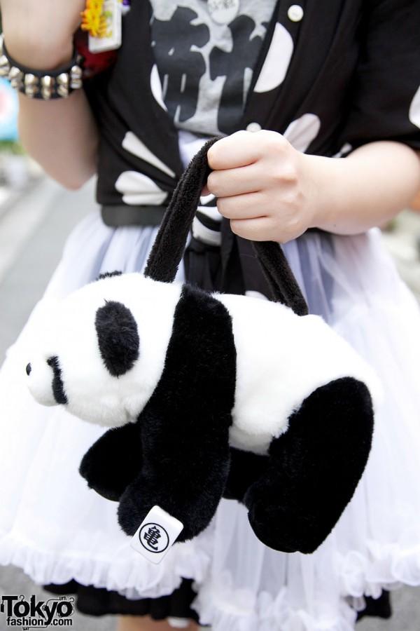 Panda Handbag in Harajuku