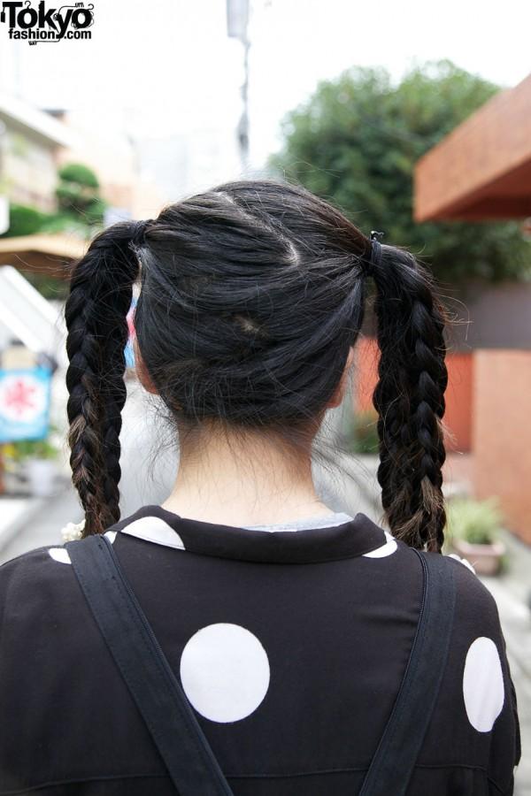 Triple Braids Hairstyle