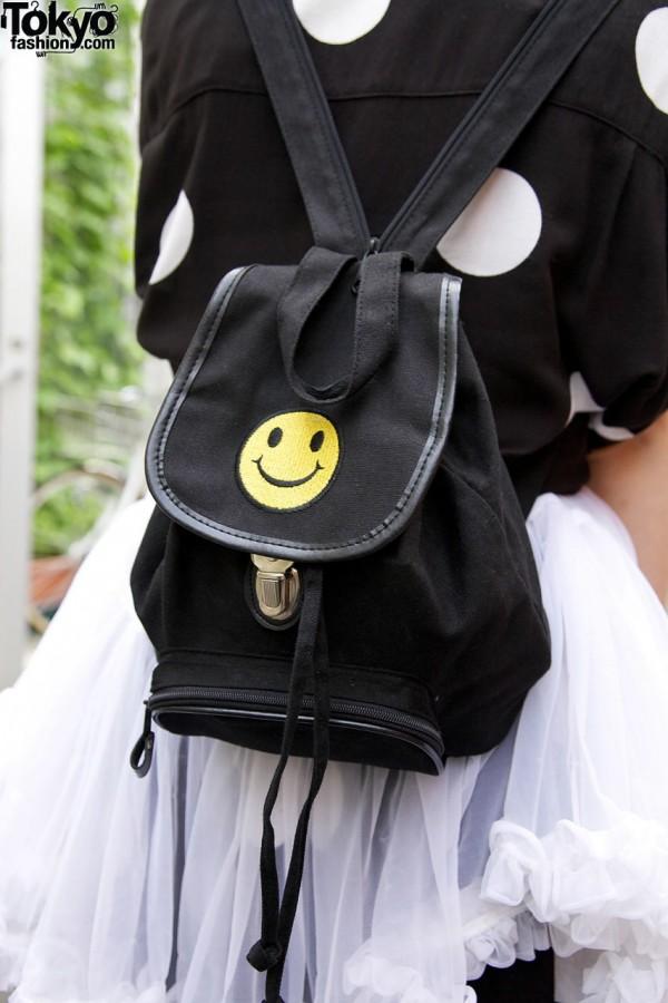 Smiley Face Resale Backpack