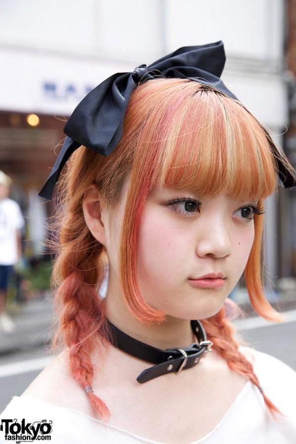 Beautiful Hair Color In Harajuku Tokyo Fashion News