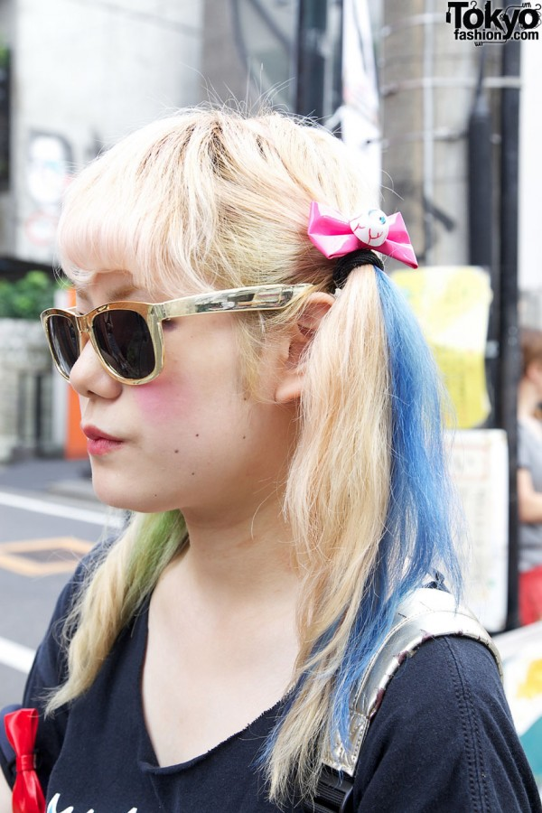 Colored Hairstyle in Harajuku