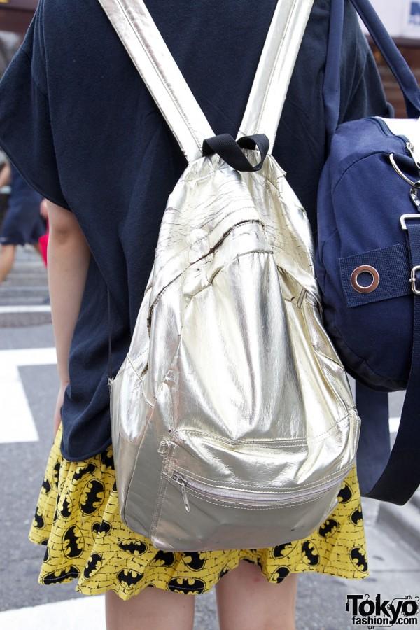 Batman Skirt & Backpack