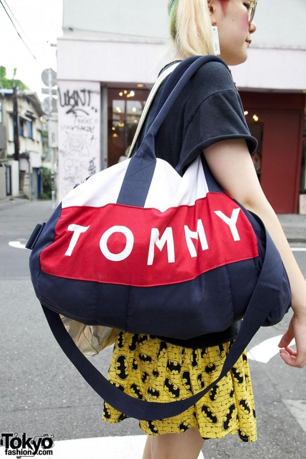 Tommy Bag & Batman Skirt