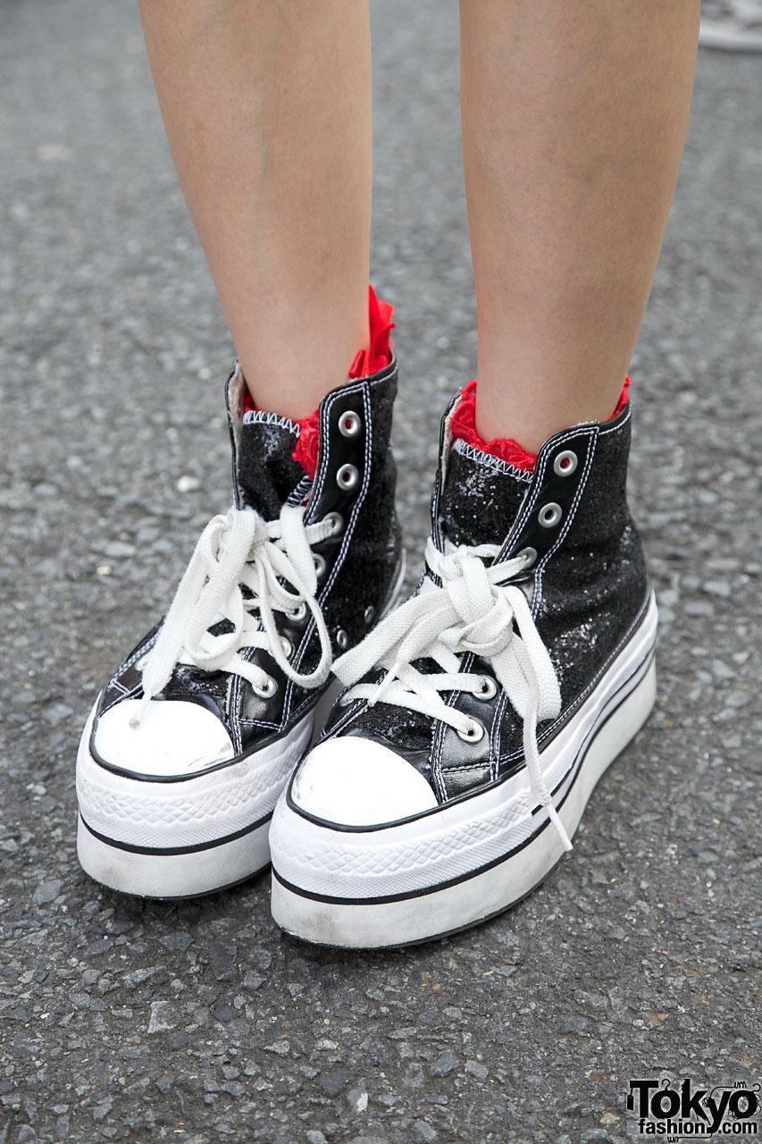 converse shoes platform