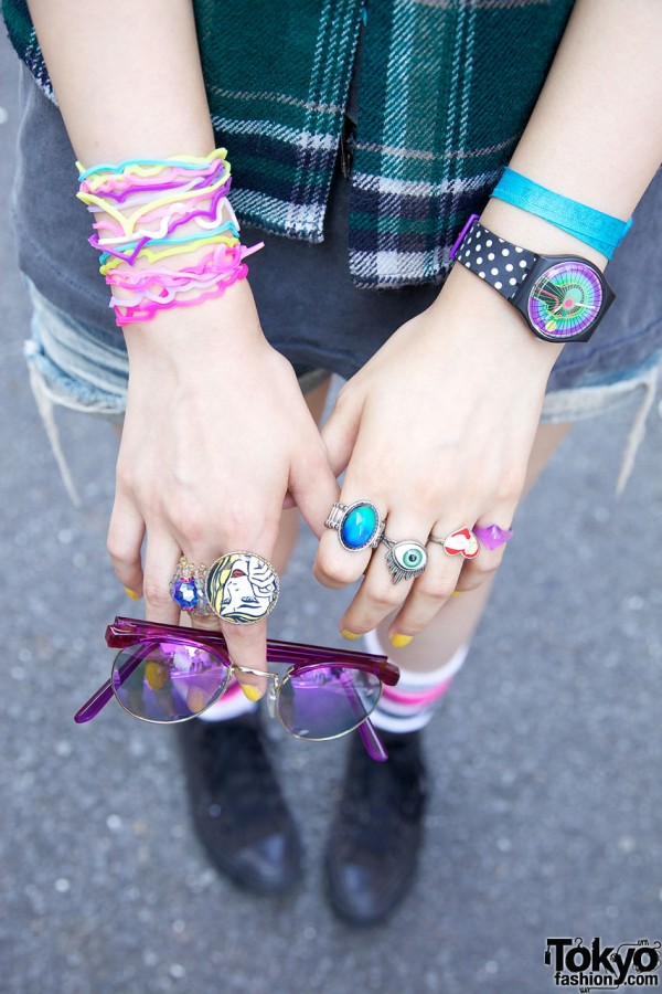 Swatch, Rings & Shaped Bracelets