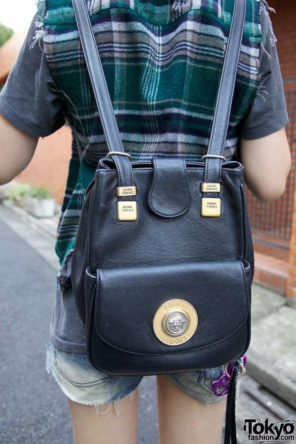 Vintage Versace Backpack
