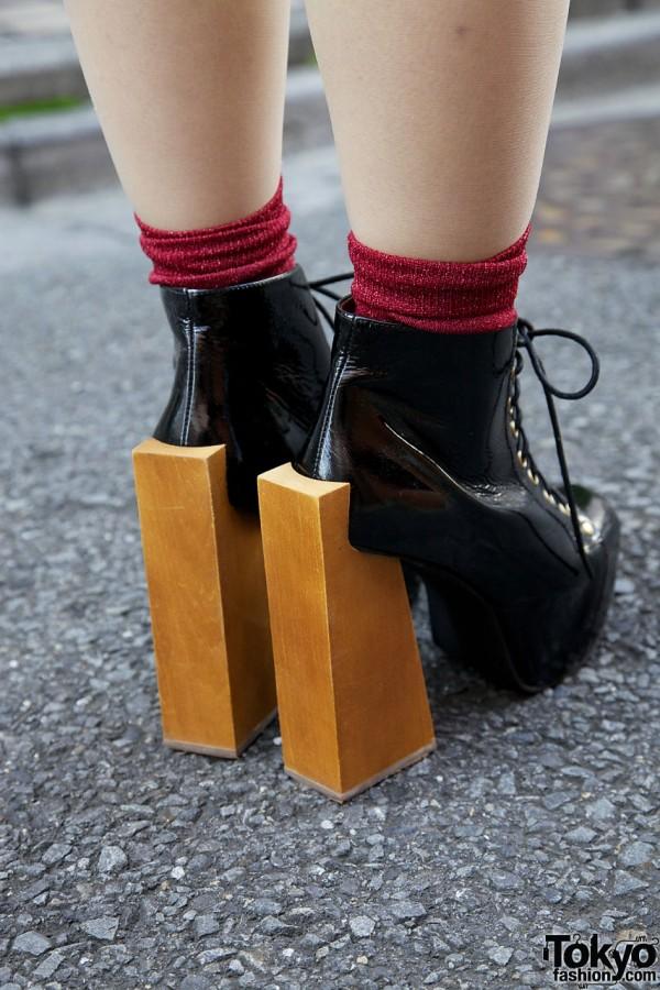 Jeffrey Campbell wooden block heels