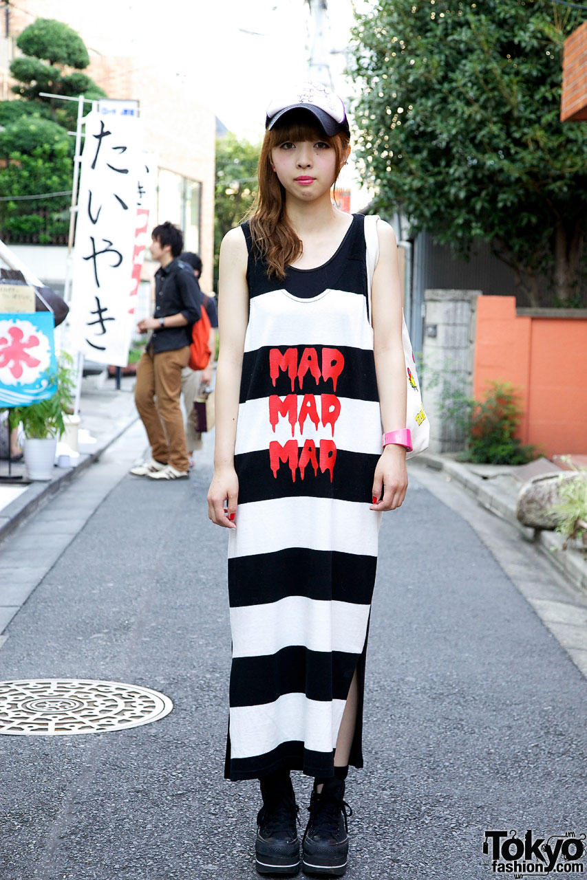 dab3577527c Harajuku Girl s Mad Mad Mad Dress