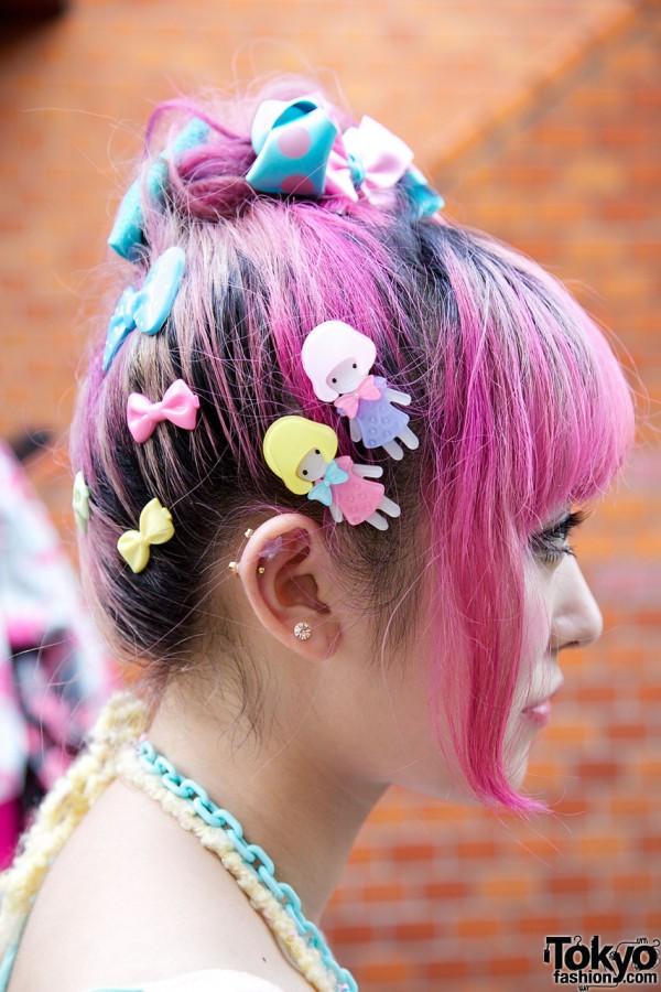 Super Cute Hair Clips in Harajuku