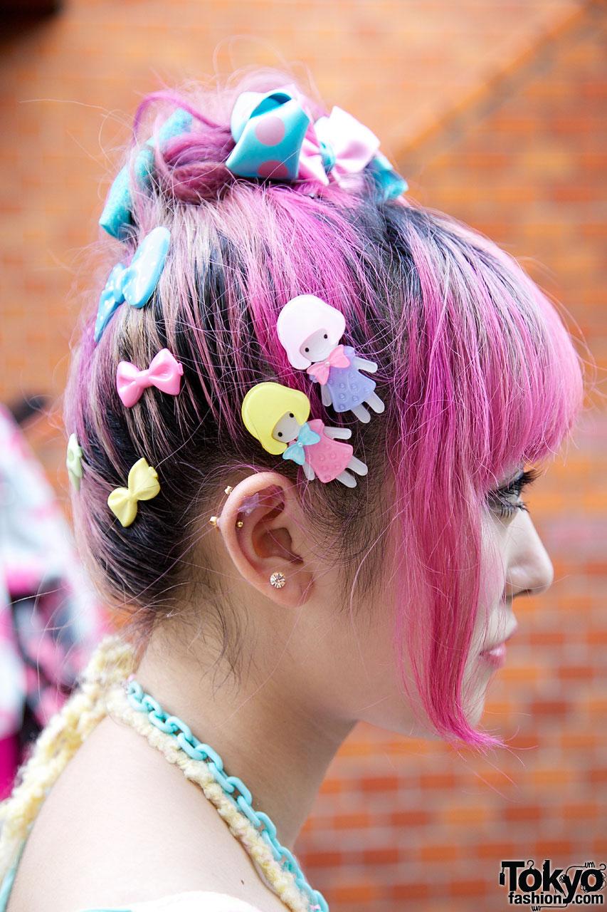 Kumamiki & Junnyan's Super-Colorful Harajuku Street Style ...