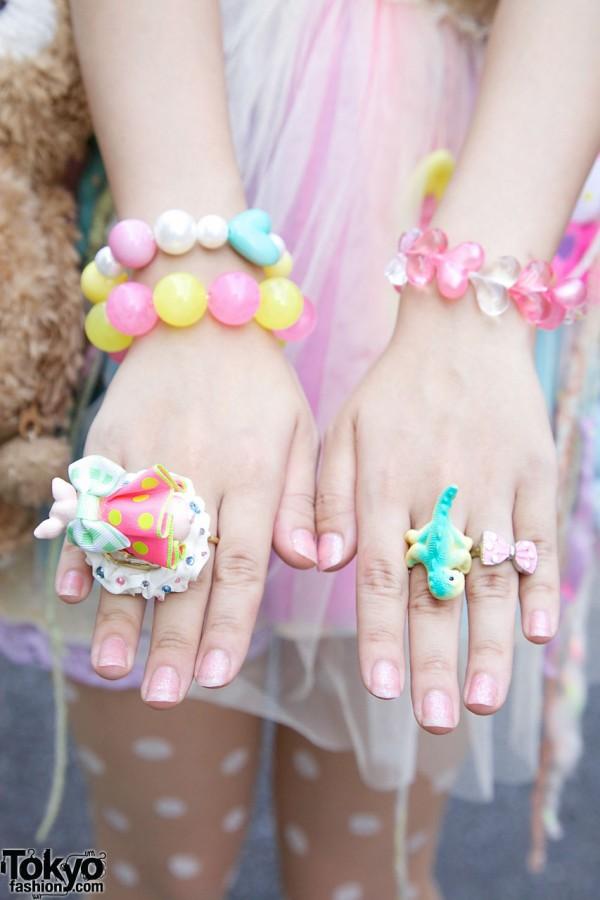 Cute Harajuku Rings & Bracelets