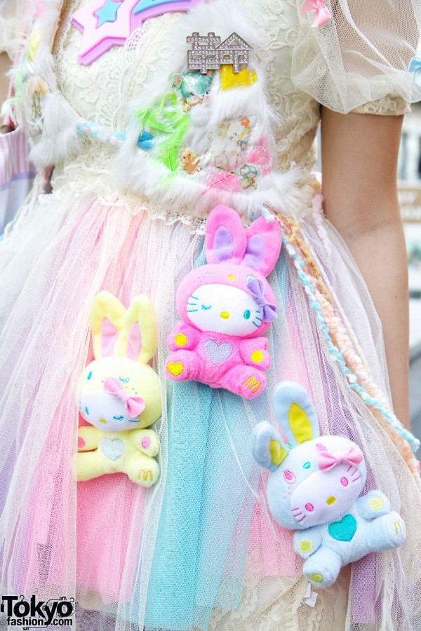 Hello Kitty Bunnies x 6%DOKIDOKI Pannier