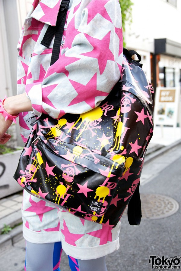 Super Lovers Backpack in Harajuku