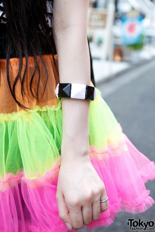ManiaQ Skirt & Bracelet