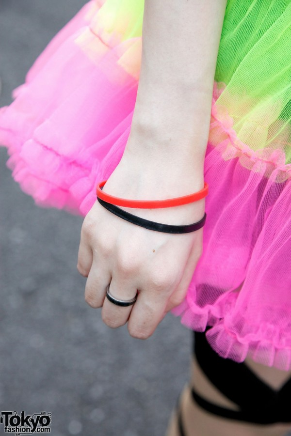 ManiaQ Skirt & Bracelets
