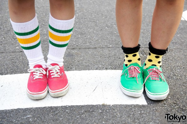 Mario Bros Girls Vans Sneakers
