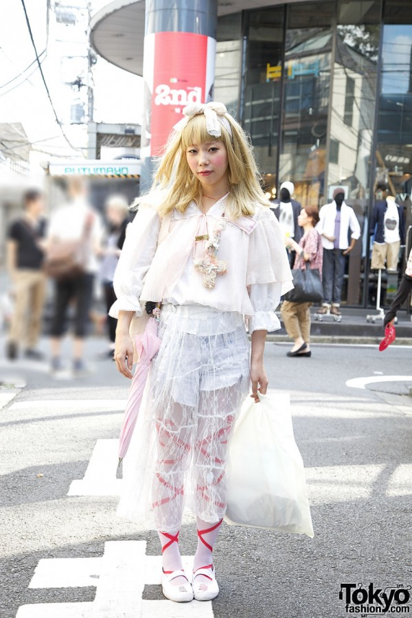 Harajuku Girl's Ethereal Dolly Look w/ Tarock, Grimoire & Incomplete Alchemist