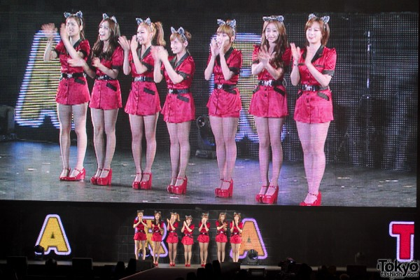 T-ara K-pop at Tokyo Girls Collection