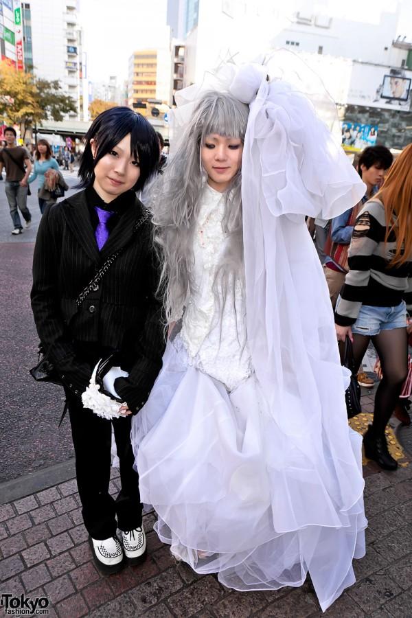 Halloween Wedding Costume in Tokyo