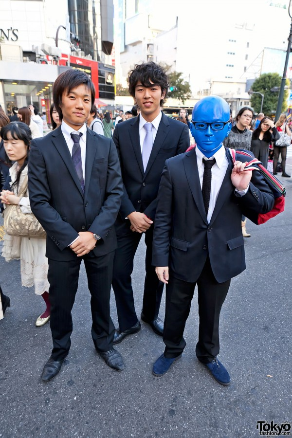 Japanese Guys in Halloween Costumes