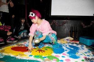 Harajuku Fashion Walk Halloween - Live Painting