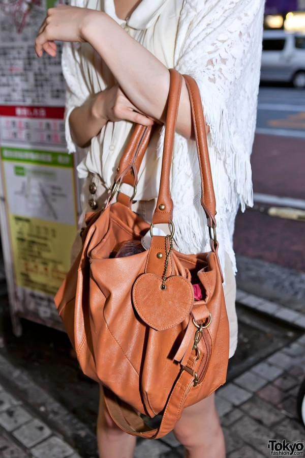 Purse With Heart Charm in Tokyo