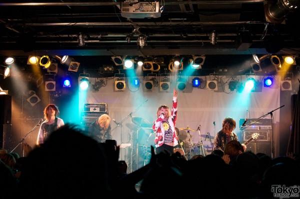 SuG Live at Spinns Harajuku Collection