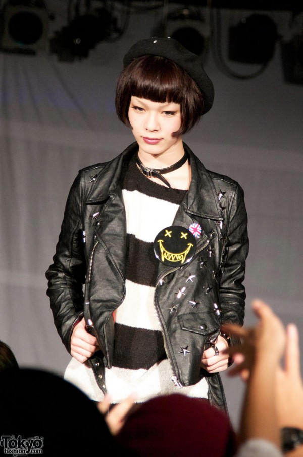 Namaiki Fashion Show at Spinns Harajuku Collection