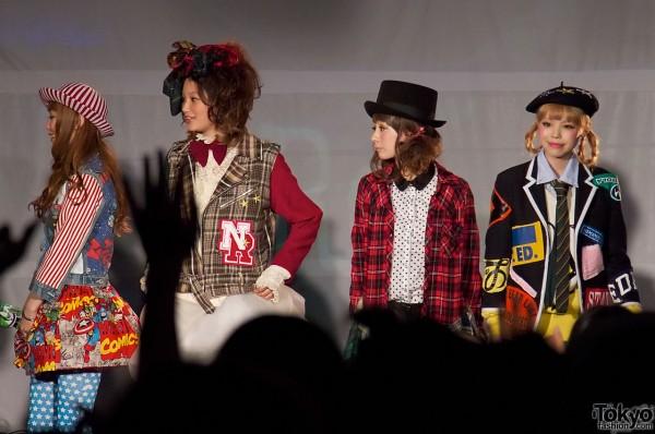 Re Plus Fashion Show at Harajuku Collection