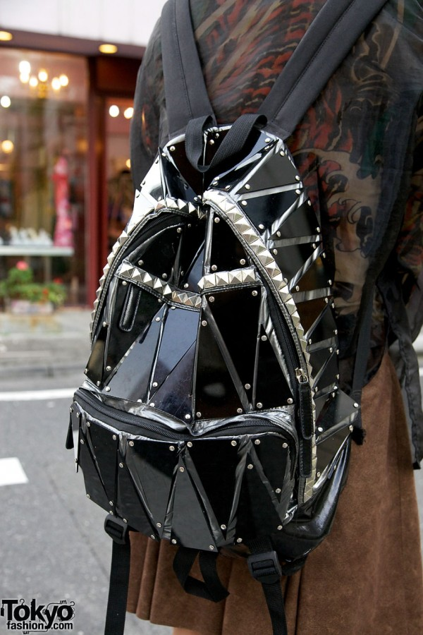 Cool pieced backpack from Dog