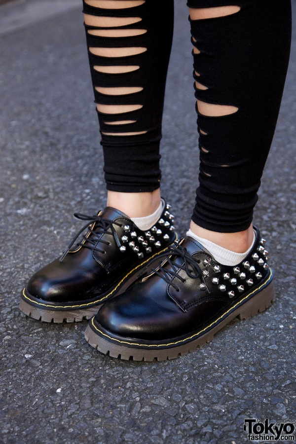 Moohoop by Spinns studded shoes