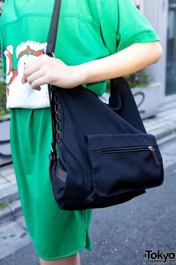 Black Purse in Harajuku